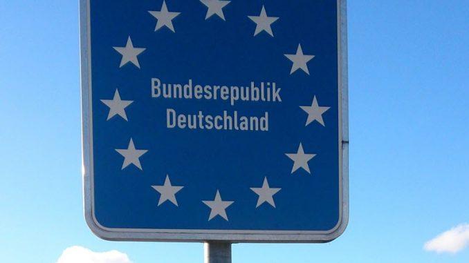 Länderschild Bundesrepublik Deutschland